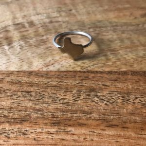 Jewelry - Brass and silver Texas ring - size 7.5